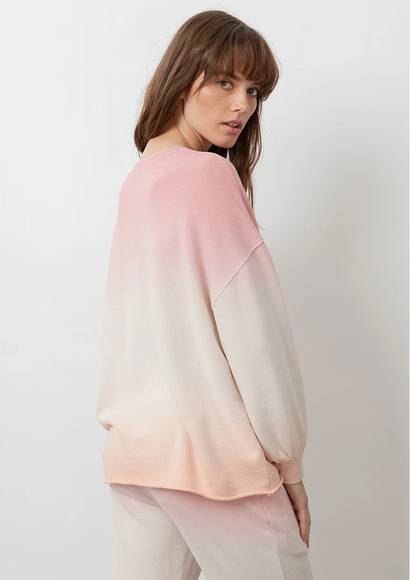 Rails Rails Signature Sweatshirt - Pink Peach main image