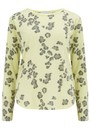 Leopard Long Sleeve T-Shirt - Neon Yellow additional image