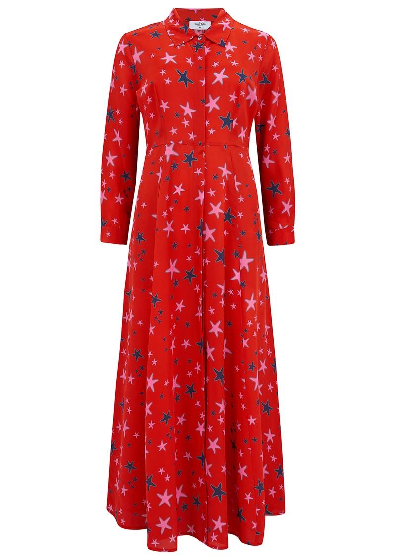 Mercy Delta Rosedene Silk Dress - Starfish Wild main image