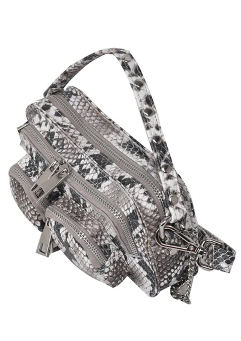 NUNOO Helena Small Leather Bag - White Snake main image