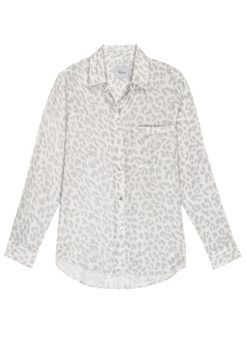 Rails Ellis Cotton Shirt - Grey Jaguar main image