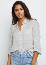 Rails Ellis Cotton Shirt - Grey Jaguar