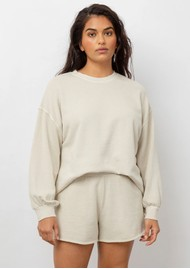 Rails Reeves Cotton Mix Sweatshirt - Pumice