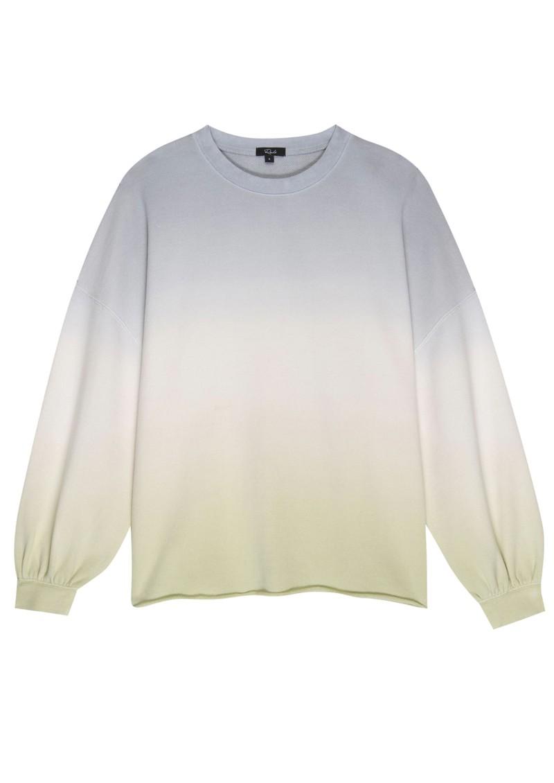 Rails Reeves Cotton Mix Sweatshirt - Blue Mint main image