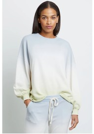 Rails Reeves Cotton Mix Sweatshirt - Blue Mint