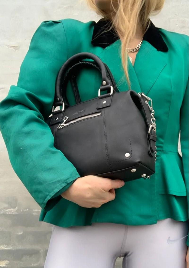 NUNOO Small Bobby Leather Bag - Black main image