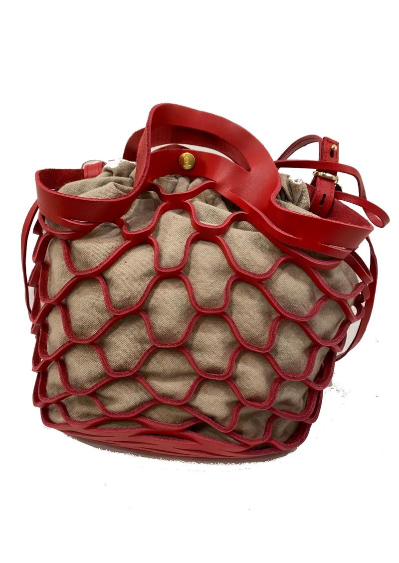 CRAIE Orbite Leather Bag - Kiss main image
