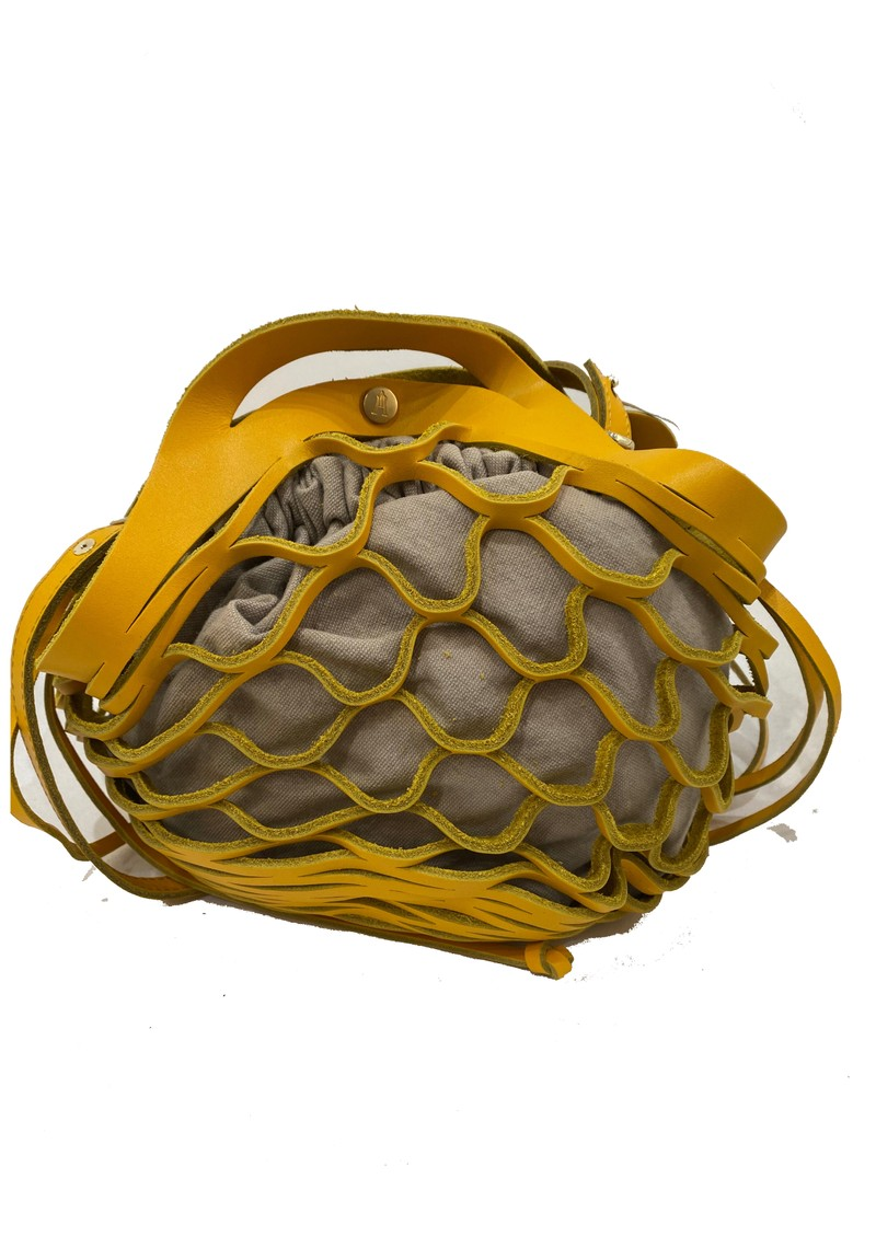 CRAIE Orbite Leather Bag - Bee main image