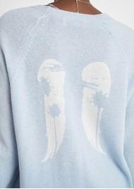 BERENICE Adams Merino Wool Jumper - Ice Tie Dye