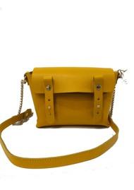 CRAIE Petite Etude Leather Bag - Bee