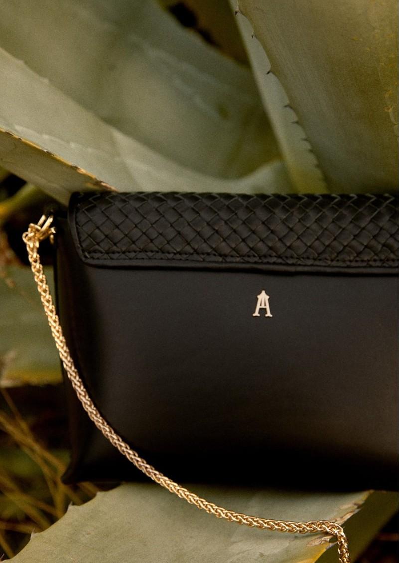 CRAIE Petite Etude Leather Bag - Tresse Black main image