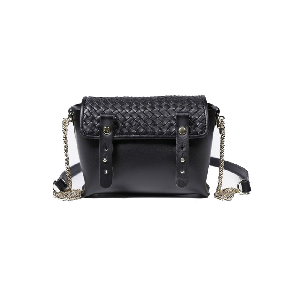 Petite Etude Leather Bag - Tresse Black