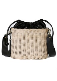 CRAIE Osier Basket Bag - Black