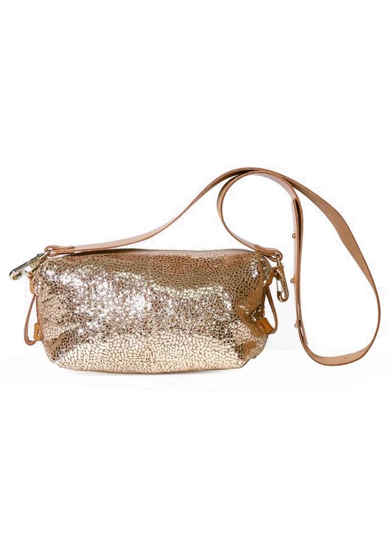 CRAIE Doudoune Drop Leather Metallic Bag - Spring Or main image