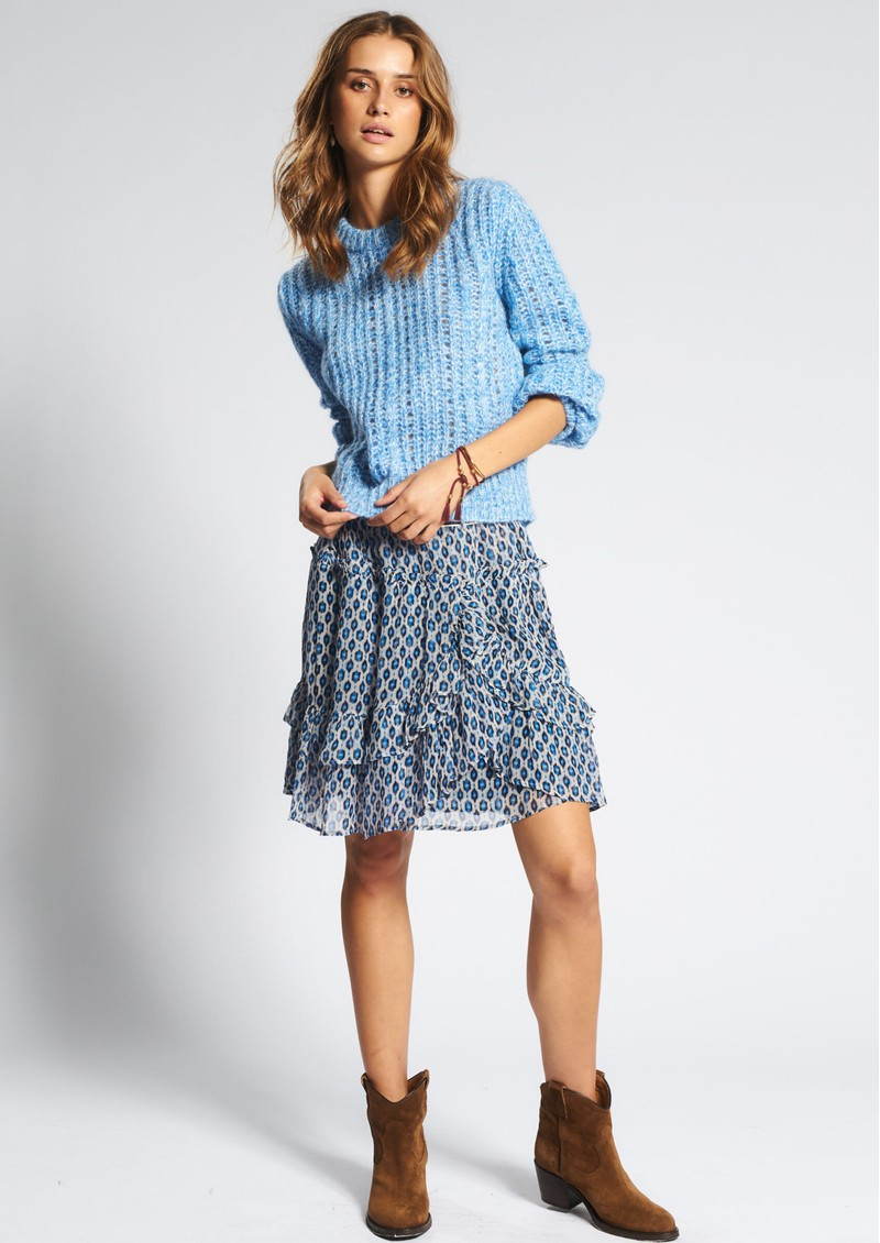 MOLIIN Dorthe Short Skirt - Princess Blue main image