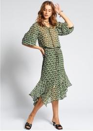 MOLIIN Nola Midi Skirt - Chive