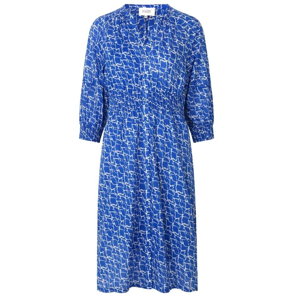 Dayly Organic Cotton Dress - Ultra Marine