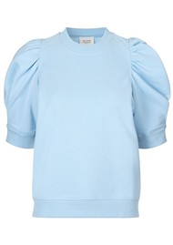 SECOND FEMALE Miami Sweat Tee - Sky Blue