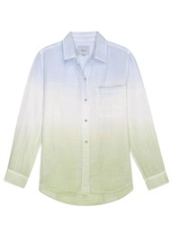 Rails Ellis Cotton Shirt - Blue Mint