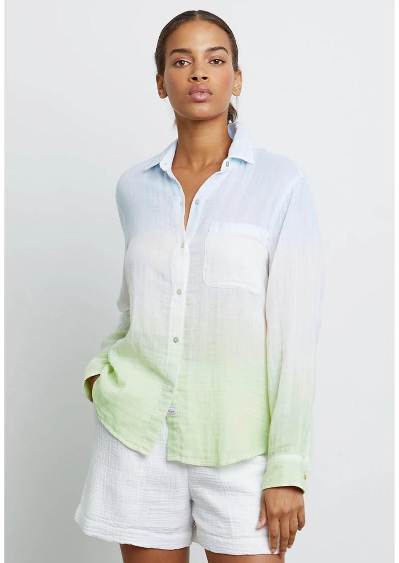 Rails Ellis Cotton Shirt - Blue Mint main image