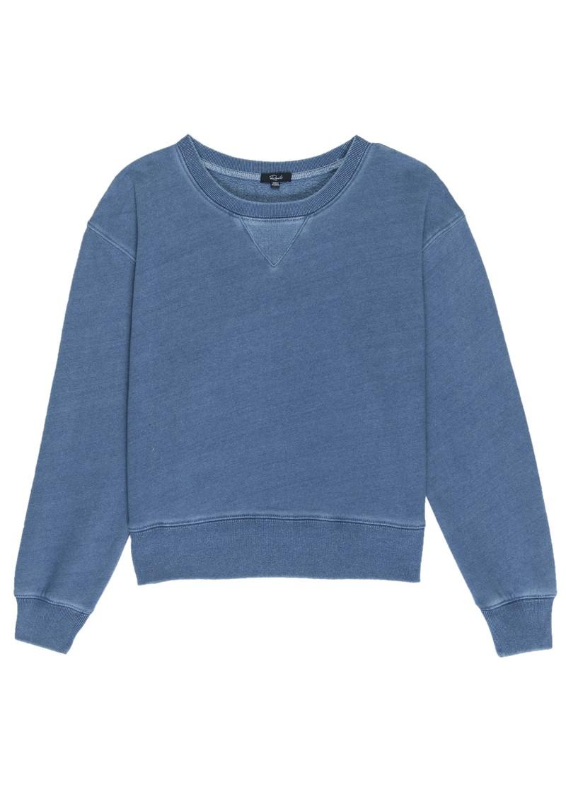 Rails Arden Cotton Mix Sweater - Medium Indigo main image