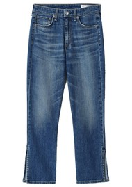 RAG & BONE Nina High Rise Ankle Flare Jeans - Julienne