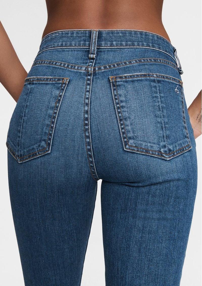 RAG & BONE Nina High Rise Ankle Flare Jeans - Julienne main image