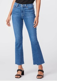 Paige Denim Claudine High Rise Ankle Flare Jeans - Bay