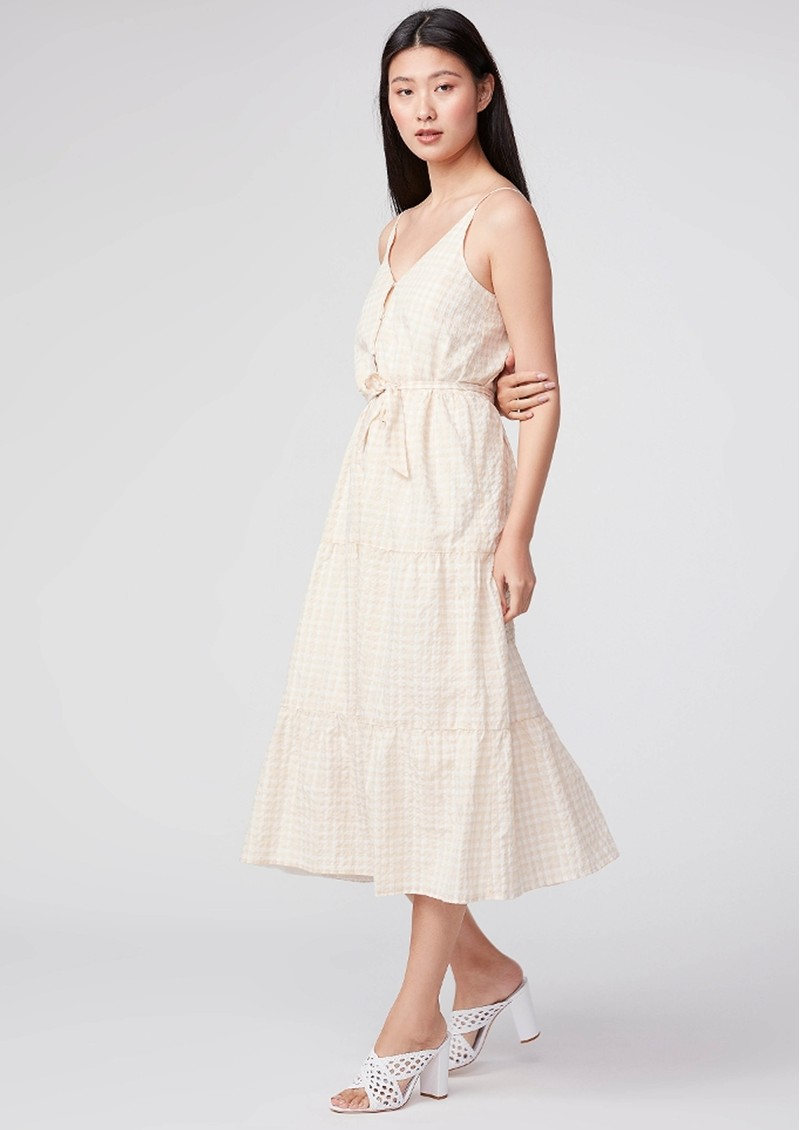 Paige Denim Paprika Cotton Mix Dress - Irish Cream main image