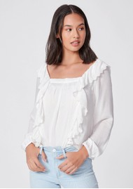 Paige Denim Brylen Blouse - White