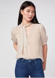 Paige Denim Esta Silk Blouse - Birch Multi