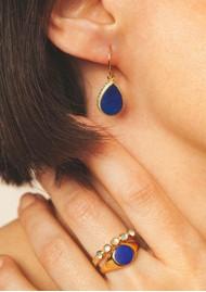 ANNA BECK Lapris Teardrop Earrings - Gold