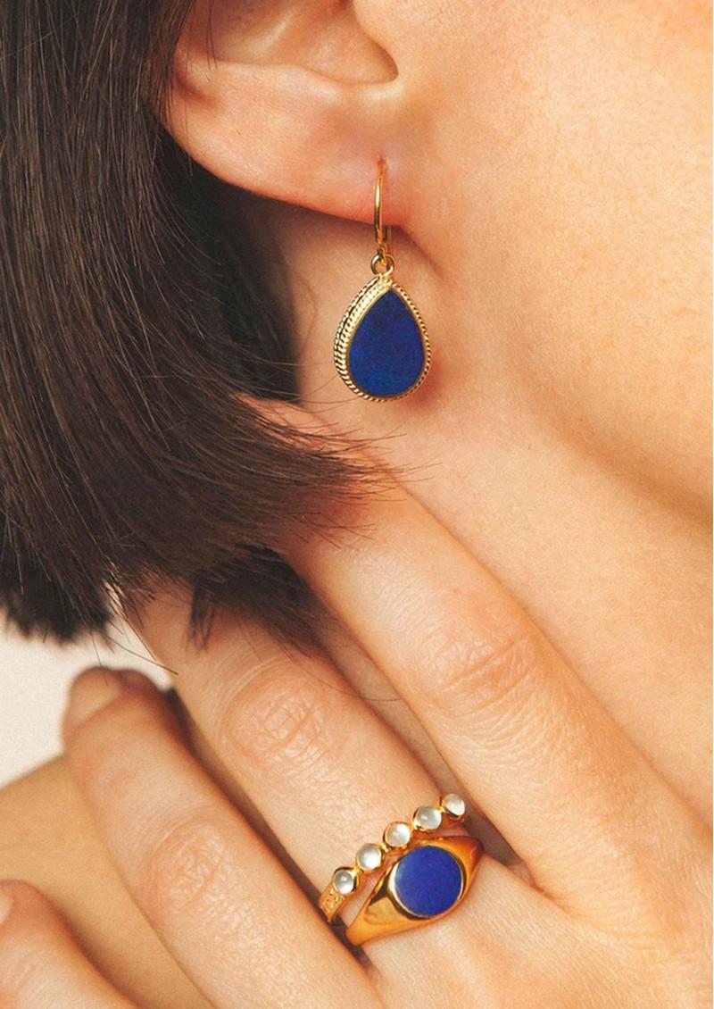 ANNA BECK Lapris Teardrop Earrings - Gold main image