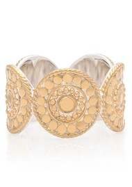 ANNA BECK Dotted Multi Disc Stacking Ring - Gold