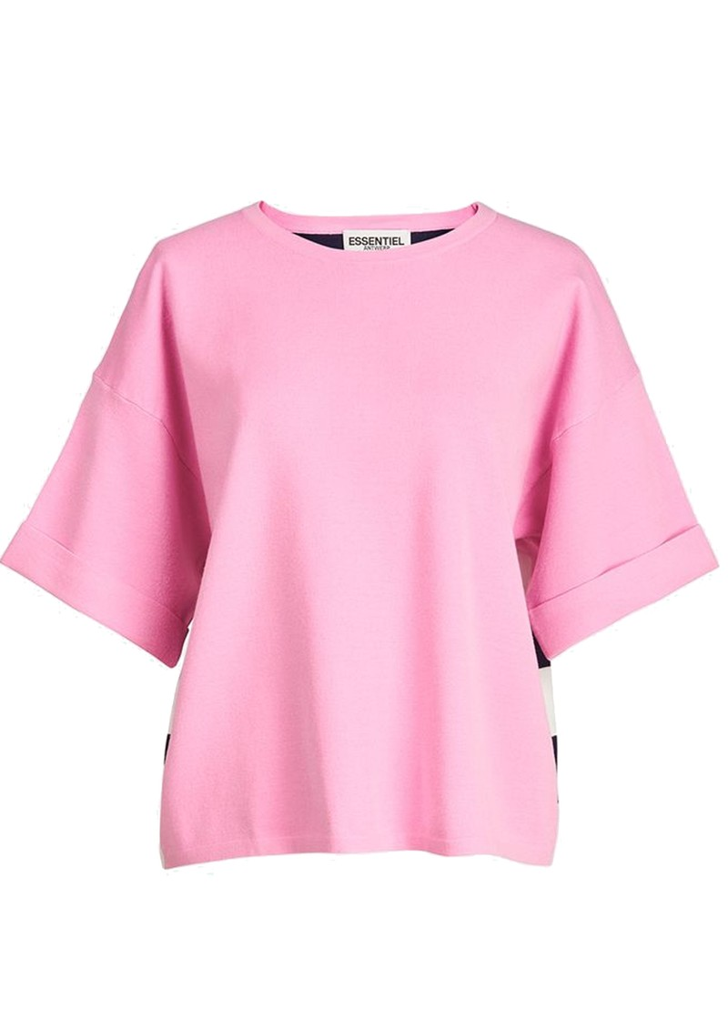 ESSENTIEL ANTWERP Zrad Short Sleeve Pullover - Fairy Tale main image
