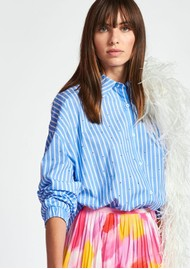 ESSENTIEL ANTWERP Zaboon Oversized Stripe Shirt - Halogen