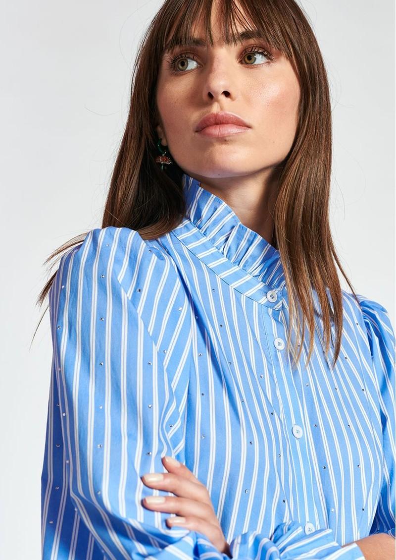 ESSENTIEL ANTWERP Zinga Stripe Shirt Dress - Halogen  main image