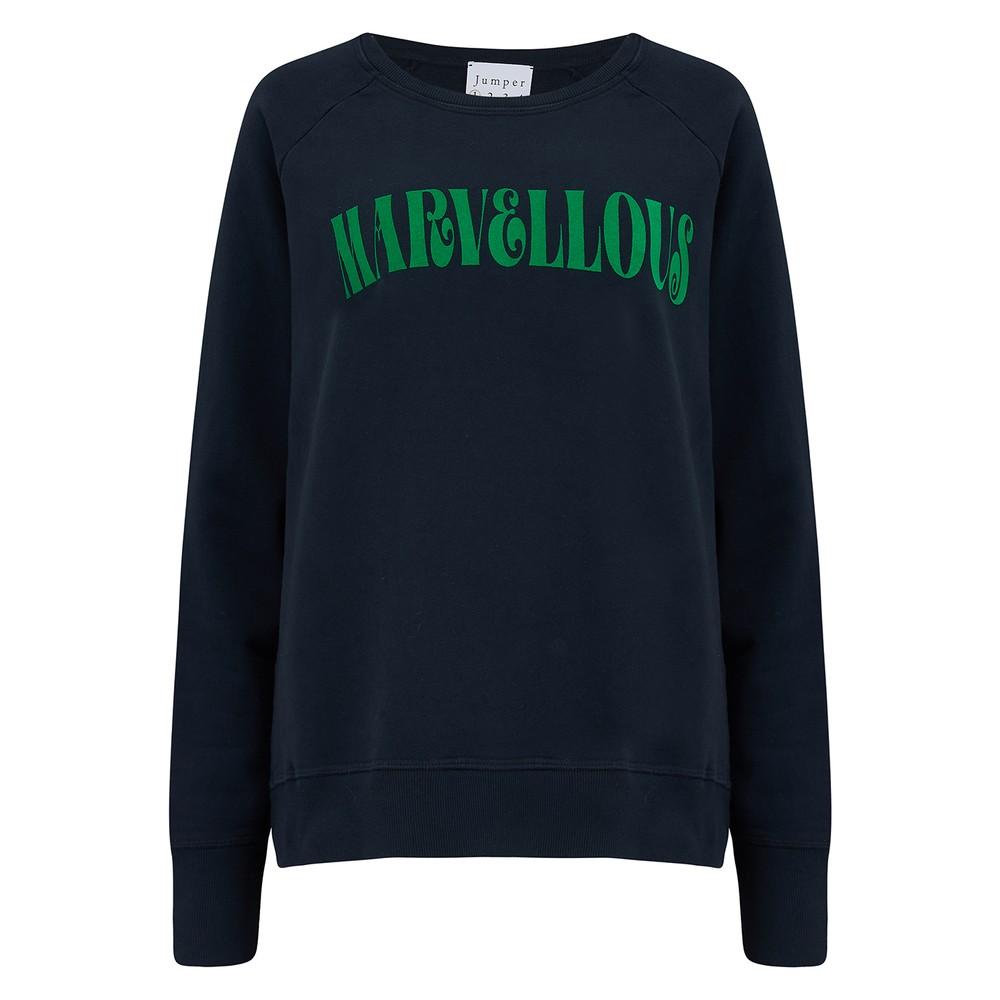 Marvellous Sweatshirt - Navy & Green