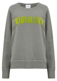 JUMPER 1234 Marvellous Sweatshirt - Grey & Yellow