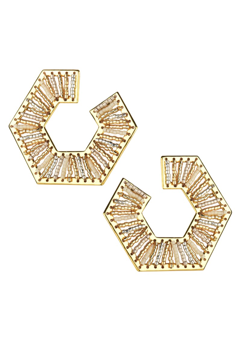 MISHKY Prisma Earrings - Gold main image