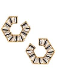 MISHKY Prisma Earrings - Gold & Black