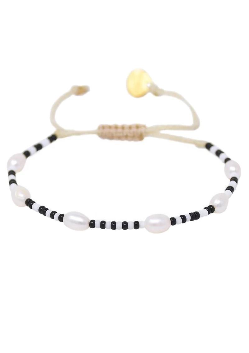 MISHKY Perlissima 3.0 Beaded Bracelet - Black & White main image