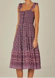 M.A.B.E Jani Cotton Printed Sundress - Multi