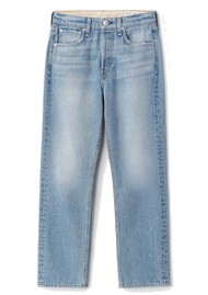 RAG & BONE Maya High Waisted Ankle Wide Leg Jeans - Harper