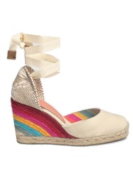 CASTANER Castaner x Paul Smith Carina 8 Wedge Espadrille - Ivory