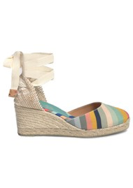 CASTANER Castaner x Paul Smith Carina 8 Wedge Espadrille - Multi