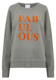 JUMPER 1234 Fabulous Sweatshirt - Grey & Orange