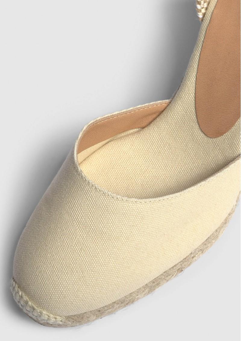 CASTANER Carina 8 Espadrille Wedge Sandal - Ivory main image