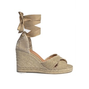 Bluma Espadrille Wedge Sandal - Oro Claro