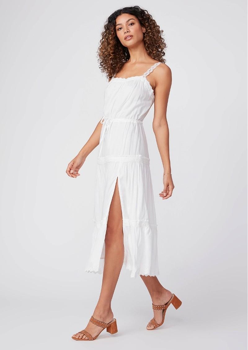 Paige Denim Amity Dress - White main image